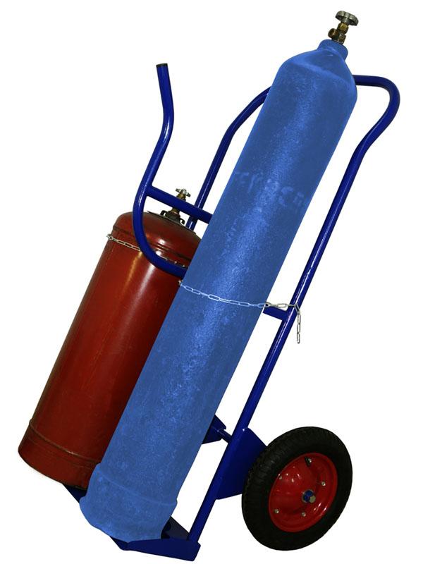двухколесные-тележки, для-газовых-баллонов, кп2,, Тележка, для, перевозки, двух, баллонов, и, шлангов, КП-2, У