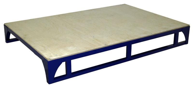 поддоны-металлические,, Поддон, ПМФЛ, (800х1200х151), металлический, с, настилом, из, фанеры, ламинированной