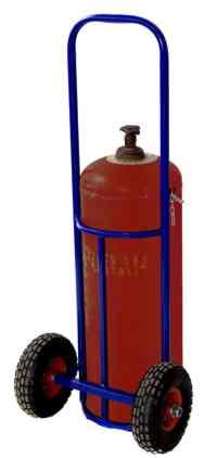 Двухколесные тележки для газовых баллонов