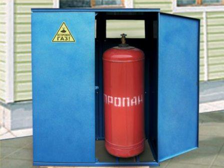 купить ящик для газового баллона, заказать шкаф для газового баллона