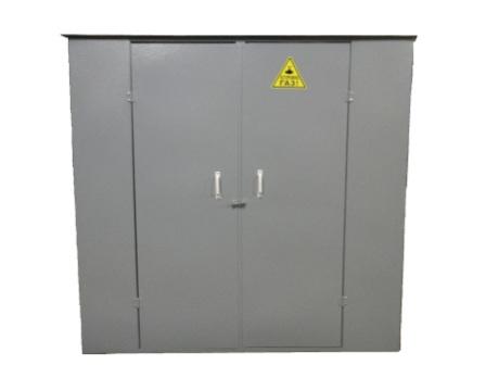 шкафы-для-газовых-баллонов,, ГШ-4К-Сборно-разборный