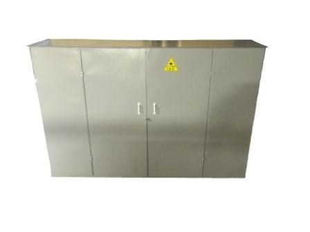 шкафы-для-газовых-баллонов,, ГШ-6П, Сборно-разборный
