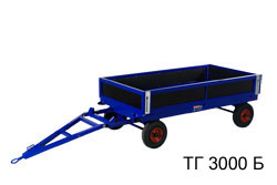 тележки, грузовые_тележки,, ТГ-3000, Б, (1205х3000)
