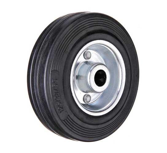 тележки, колеса и колесные опоры для тележек, колёсные опоры ,  чёрная резина, колёса без кронштейнов черная резина, C92