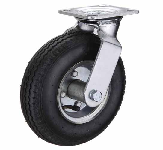 тележки, колеса и колесные опоры для тележек, пневматические (надувные) колёсные опоры, пневматические поворотны, SC90