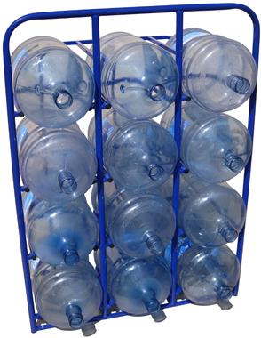 Стеллаж для 19-ти литровых бутылей