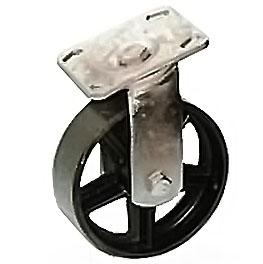 тележки, колеса и колесные опоры для тележек, большегрузные колёсные опоры, поворотные стальные, SCs63 ,  SCs63н